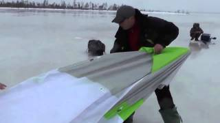 Зимняя палатка для рыбалки лотос 3