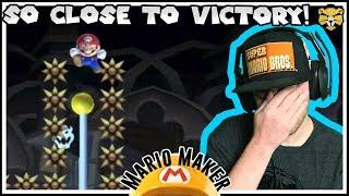 Can't Skip! Won't Skip! 100 Mario Challenge: Super Expert Mario Maker