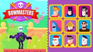 Bowmasters - Upgraded Dart Gorsky vs All Characters - Gameplay Walkthrough 65 Epic Wins (iOS)
