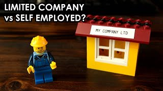 Sole Trader vs Limited Company in the UK? ...explained with Lego!