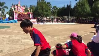 #สีชมพู กฬาสีโรงเรียนนาหว้าพิทยาคม 2560