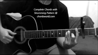 The Man Chords by Ed Sheeran - chordsworld.com