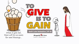 Give Is To Gain