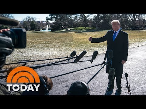 'Fire And Fury' Book Makes Waves As President Trump Heads To Camp David | TODAY