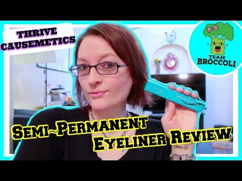 Semi-Permanent Eyeliner REVIEW | THRIVE CAUSEMETICS