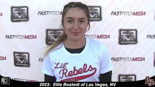 2023 Ellie Bostedt Pitcher and Third Base Softball Skills Video - Lil Rebels