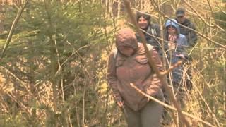 preview picture of video 'Pochod Krásný Jez - Loket, trať v džungli'