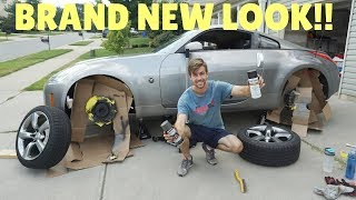 Restoring RUSTED Brakes on My 350Z!!