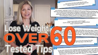 Lose Weight Over 60: 3 Practical & Tested Tips from Those Doing It