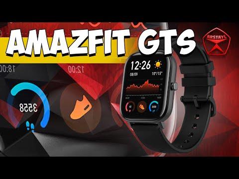 Часы от Xiaomi - Amazfit GTS (AMOLED и дикая батарея) / Арстайл /