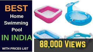 Best Swimming Pool For Home in India 2020 Prices List
