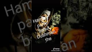 Jamana Jalega... Ham aur jalenge.... Hamare Pahle bahut Dushman the Ham aur Banaenge.... ...........