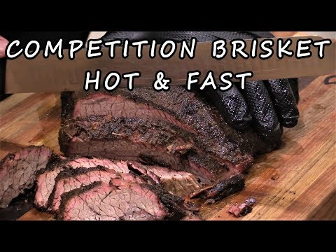 Competition Brisket in 5 Hours on Weber Smokey Mountain | How-To Video