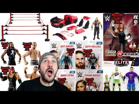 New WWE Mattel Action Figure News - New Figure Info & Figure Images + TOPPS GIVEAWAY!!