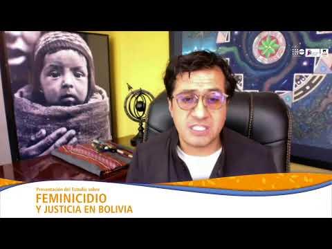Webinar sobre feminicidio y justicia en Bolivia - Día Mundial de la Población 2021