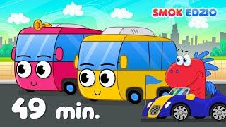 Koła autobusu i inne piosenki dla dzieci Smoka Edzia   ZESTAW piosenek dla dzieci