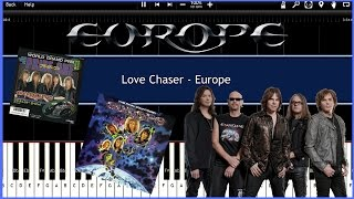 Love Chaser - Europe (Synthesia) [Tutorial] [Instrumental Video] [Download]