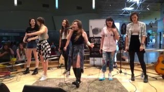"Cimorelli - ""Renegade"" live at the Opry Mills Mall in Nashville"