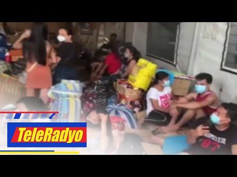 [ABS-CBN]  Mahigit 200 stranded na pasahero, nagpalipas ng gabi sa Manila North Port   Teleradyo (23 July 2020)