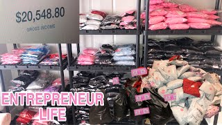 I Made Over $20,000/month During A PANDEMIC | PACKAGING ORDERS + ORGANIZING