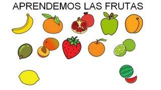 Aprendemos las frutas