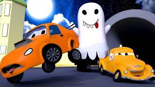 Эдгар привидение - Малярная Мастерская Тома в Автомобильный Город 🎨 детский мультфильм