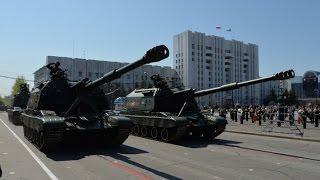 В Хабаровске состоялся самый масштабный на Дальнем Востоке парад Победы