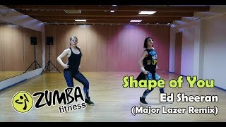 ZUMBA - Ed Sheeran - Shape of You (Major Lazer Remix)