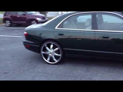 1999 Mazda Millenia riding out of Rimtyme of Jonesboro, GA on 22 Inches!