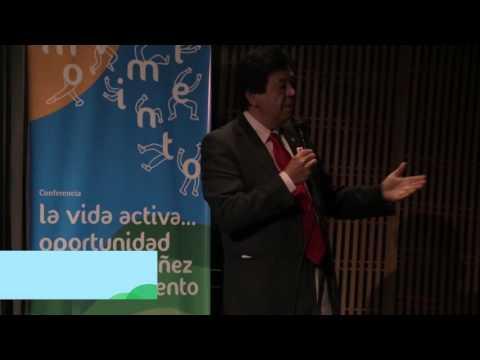"""Victor Matsudo -resumen-Conferencia """"La vida activa: oportunidad para una niñez en movimiento"""""""