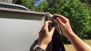 Instructievideo Shelter Vario Luifel opzetten