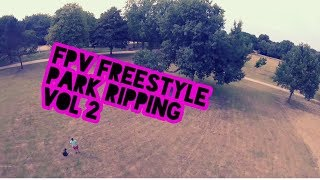 FPV Drone Freestyle - Park ripping vol 2 // HD