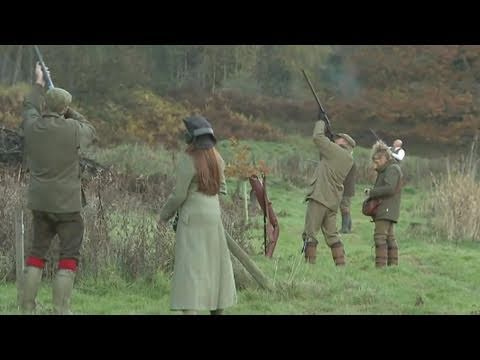 Fieldsports Britain – Shooting pheasants, partridges and grouse at Ripley Castle
