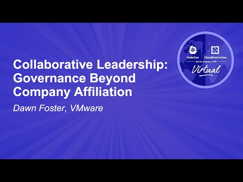 Image thumbnail for talk Collaborative Leadership: Governance Beyond Company Affiliation