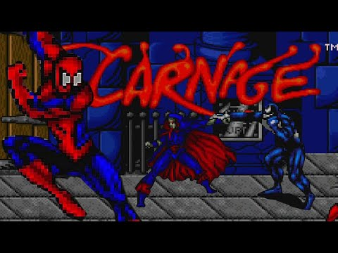 Spiderman Venom Maximum Carnage Snes Longplay Silenig Video