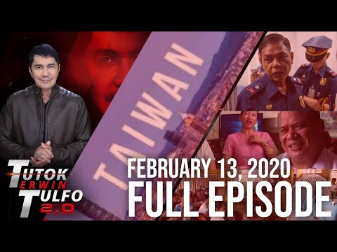 [Erwin Tulfo]  TUTOK TULFO 2.0 – FEBRUARY 13, 2020 FULL EPISODE