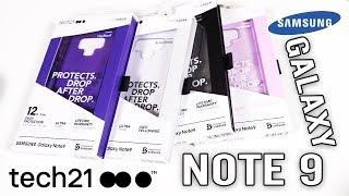 Samsung Galaxy Note 9 Tech21 Case LineUp EVOCheck PUREClear