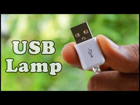 How to make a USB Led Light , DIY Mini LED Night Lamp