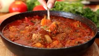 מתכון לקציצות בשר ברוטב עגבניות
