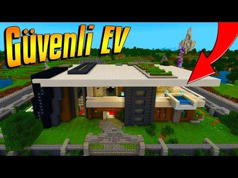 DÜNYANIN EN GÜVENLİ EVİ MCPE | Minecraft PE: BKT