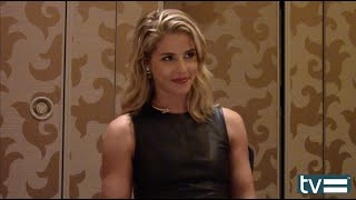 "Сериал ""Стрела"", Emily Bett Rickards Interview - Arrow Season 4"