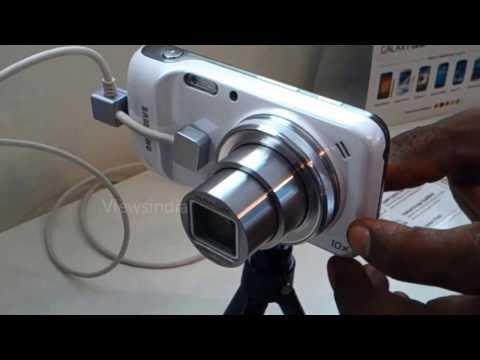 Samsung S4 ZOOM Camera zooming