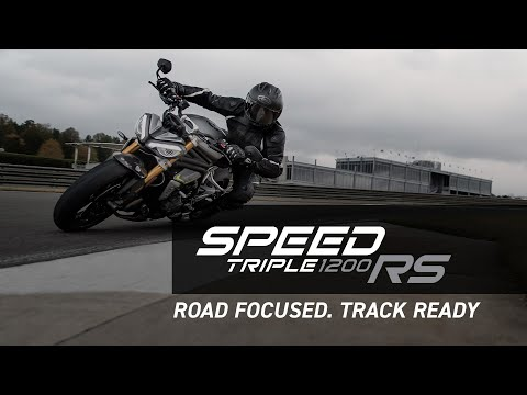 2022 Triumph Speed Triple 1200 RS in Goshen, New York - Video 2
