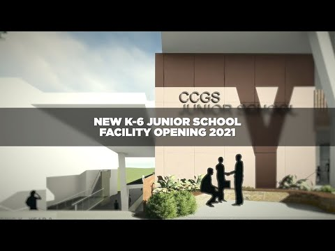 New Junior School K to 6 Facility Opening 2021