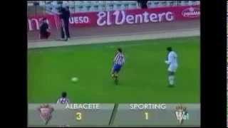 Albacete 3 - Sporting de Gijón 1. Temp 93/94. Jor. 16