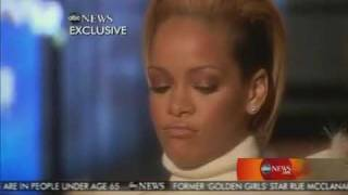 Rihanna Says Why Chris Hit Her - Good Morning America Interview - PART 2