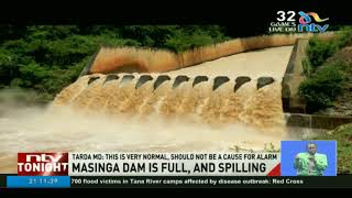 Masinga spillage is normal and should not be a cause for alarm, TARDA says