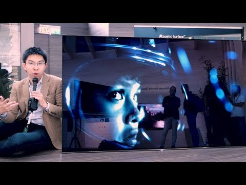 Sony 77-inch Bravia A1/ A1E OLED TV at IFA 2017