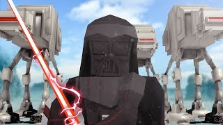 Minecraft | Good vs Evil - STAR WARS HOTH INVASION! (Darth Vader vs Luke Skywalker)