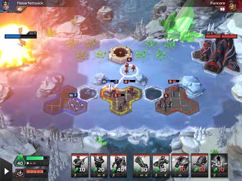 (ipad) Command & Conquer: Rivals - Funcore vs Fieserfettsack (Lost) - Nod Gameplay